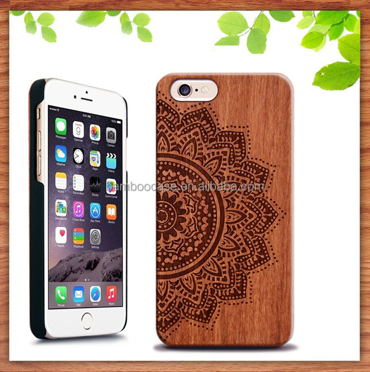 Best Price Wood Cases 3d Engraving Wooden Cell phone Cover For Iphone 4 5 6 6s Plus 7 plus