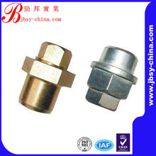 Hex head long crown nut