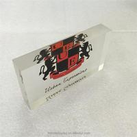 factory custom clear decorativ acrylic glass block