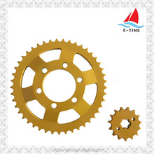 HOT SELLING COLORED MOTORCYCLE SPROCKETS