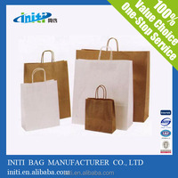 kraft paper bag heat seal/custom luxury gift bags kraft paper bag heat seal
