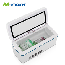 M-COOL Portable Medical mini refrigerator /battery powered mini fridge with 12V model of M8