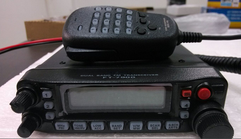 FT-7900R for Yaesu Mobile radio base 50w dual band taxi cheap mobile radio