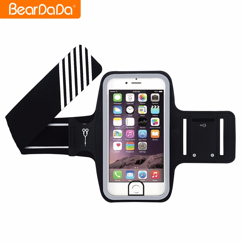 New Products Cell Phone Sport Running armband case holder for iphone 7