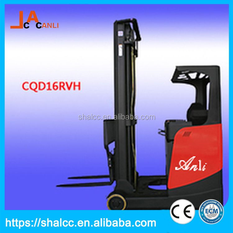 New strong full electric reach truck load 1t
