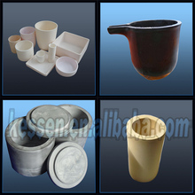 99%-99.7% Ceramic High Alumina/Corundum ceramic pots for plants