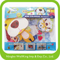 Mini Coloring Activity for Scrapbooking Set-dog