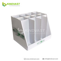 cardboard point of sale bottle display trays for beverage display