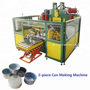 Automatic two piece tin can making line with eoe making machine