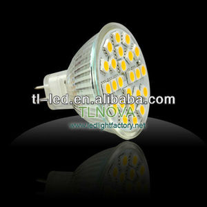 High brightness LED Spot light MR16 24SMD LED Spot light LED Lamp 290-350LM
