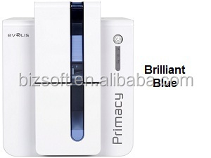 Bizsoft Evolis Primacy cheap single-side PVC card printer/heat transfer printer/high quality