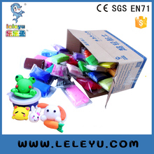 Nice DIY Nontoxic soft modelling super light clay non-dry air foam playdough factory supplier