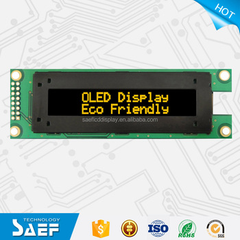 cheap 2.93 inch 20X2 dot OLED display character LCD Panel