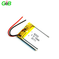 Rechargeable small lipo battery 402025 3.7v 150mAh polymer li-ion battery for portable devices