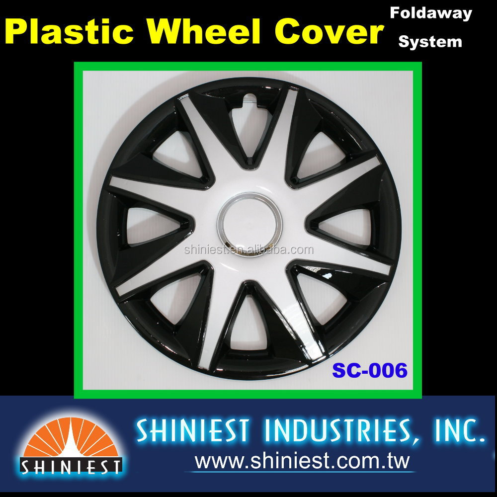 2016 Incredible Low Price for car wheel rim cover 15 inch SC-006 4pcs Universal Durable Wheel Covers