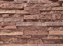 polyurethane foam stacked stone panels stone cladding