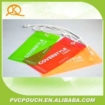 OEM Fasion pvc plastic bags apparel cell phone accessories