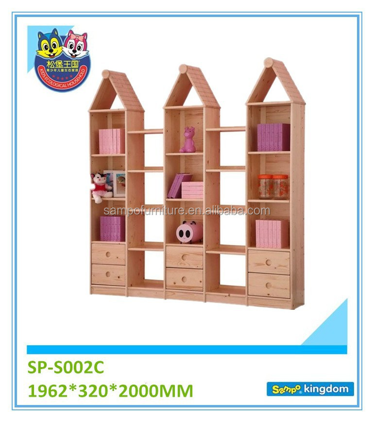 solid wood kitchen wardrobe For Living Room Kids Finial cabinet
