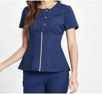 natural High quality,scrubs uniforms basic designs europe hospital nurses uniforms scrubs suit,nursing uniforms scrubs