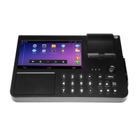 Smart pos system for financial and retail business management with receipt printer and bar code scanner (PC701)