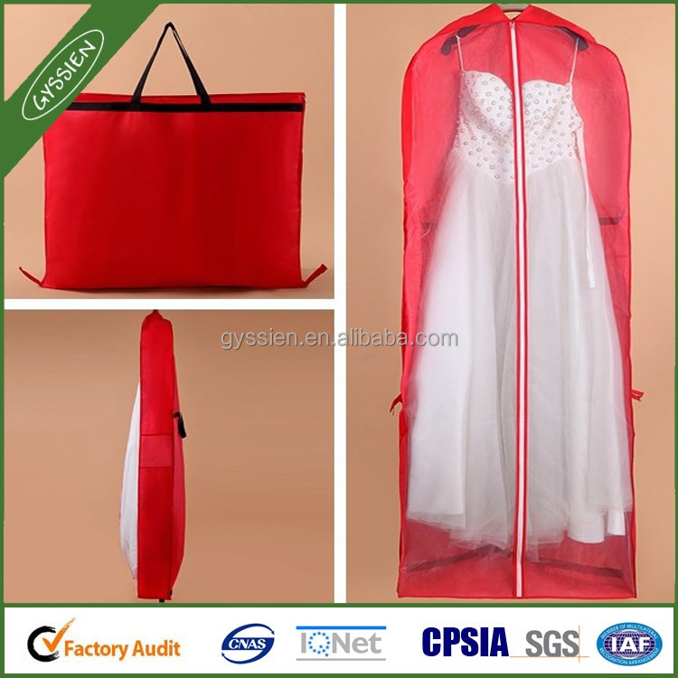 Wedding Dress Garment Bag Dust Cover Storage Travel Bag