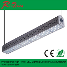 New design 100W ceiling light fixtures linear led high bay for warehouse lighting