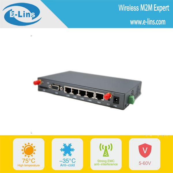 H820 3g mobile internal sim router with wifi RS232 VPN