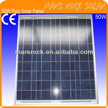 50W 18V Poly PV Solar Panel Module with CE, TUV, ROHS, UL Certificates