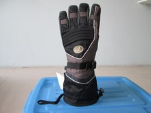 Goatskin Ski Glove Men Five Finger Glove JiNing Snowboard Glove Factory
