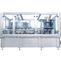 Automatic canning machine canned beer carbonated drink canned soda drinks soft drinks filling and seaming machine