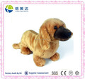 Plush Realistic Stuffed Dachshund Dog Soft Puppy Animal Toy