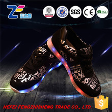 HFR-TS372013 waterproof shining led lighting girl shoes