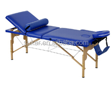 Thai Massage Table 3 Section Wooden Massage Table