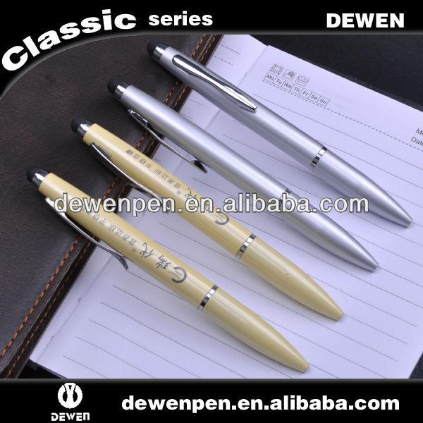 with elegant shape pen supplier finely possessed metal fashion thick stylus screen touch pen