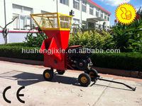 Best selling 13HP gasoline wood chipper shredder for garden tractor with CE EPA engine