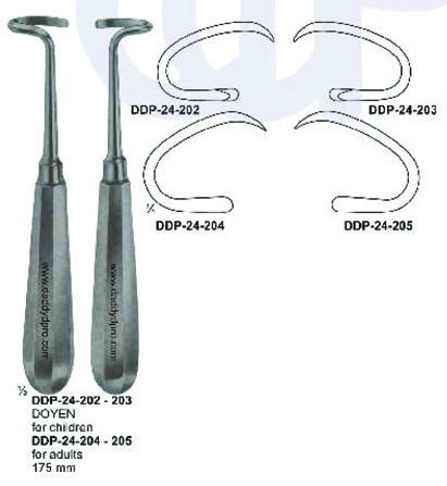 DOYEN RASPATORIES 175MM 24-202-203 For Adults