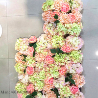 decorative synthetic succulent wall artificial flowers plastic green wall