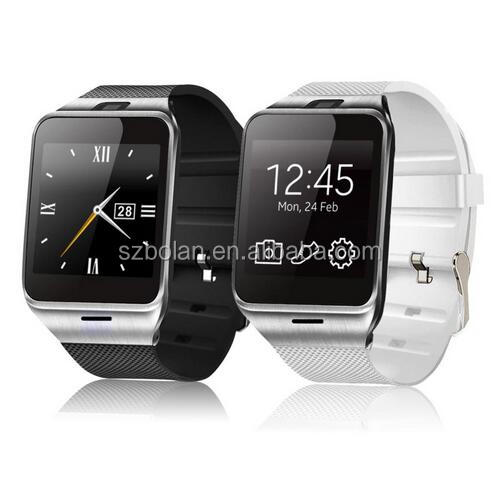 Bluetooth Smart Wristwatch Waterproof Android/IOS Phone Watch SIM Card Camera MP3 Fitness Smart Watch Phone
