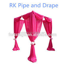 RK wedding backdrop/mandap sale India/square fiber wedding mandap decoration