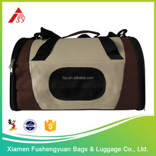 alibaba China wholesale 600D polyester diy pet carrier / pet cage