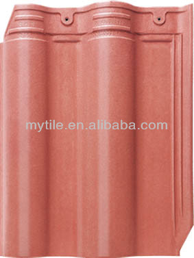 MY4059 roofing tiles suppliers ,Double Roman interlocking clay pantiles,pantile roof tiles
