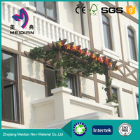 Easy installation Durable wpc plastic pergola