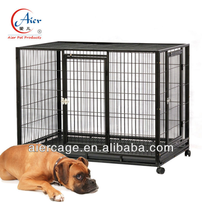 Aier new kennel galvanized pet dog crate on salesale