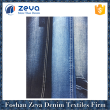 Dark blue twill style premium denim fabric cheap wholesale lots