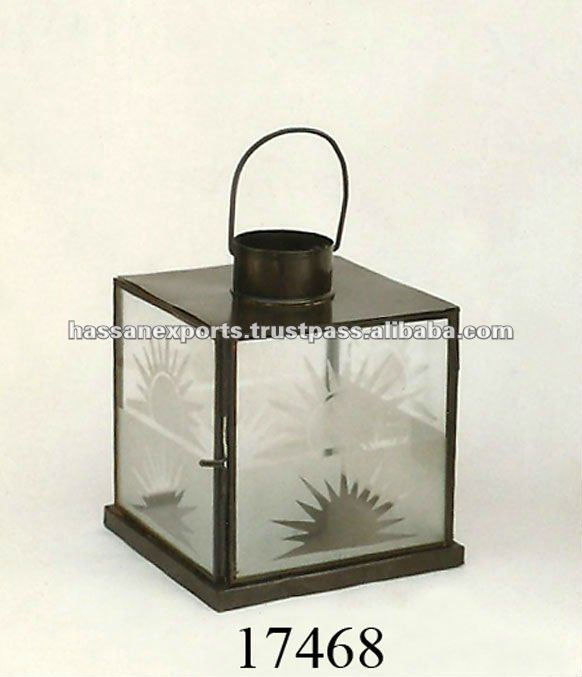 Decorative candle lantern / indoor - outdoor candle lantern / Decorative items