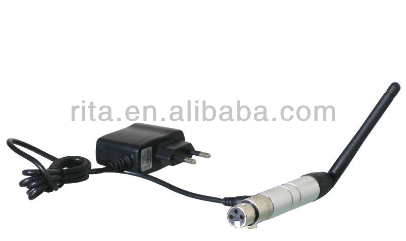 2.4G wireless DMX512 transceiver and receiver