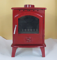 Cast Iron enamel Free Standing FIREPLACE