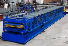 Taiwan quality China price Double Layer Roof Panel Roll Forming Machine