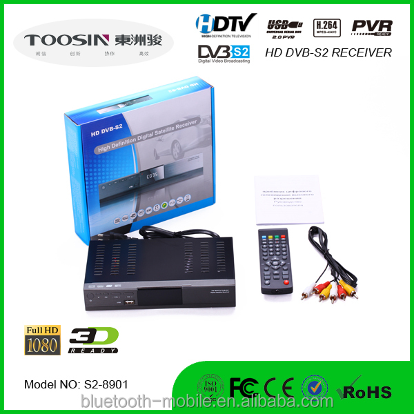 Good delivery HD FTA DVB S2 satellite receiver support IPTV POWERVU BISS CCCAM hot sale in Africa Middle East