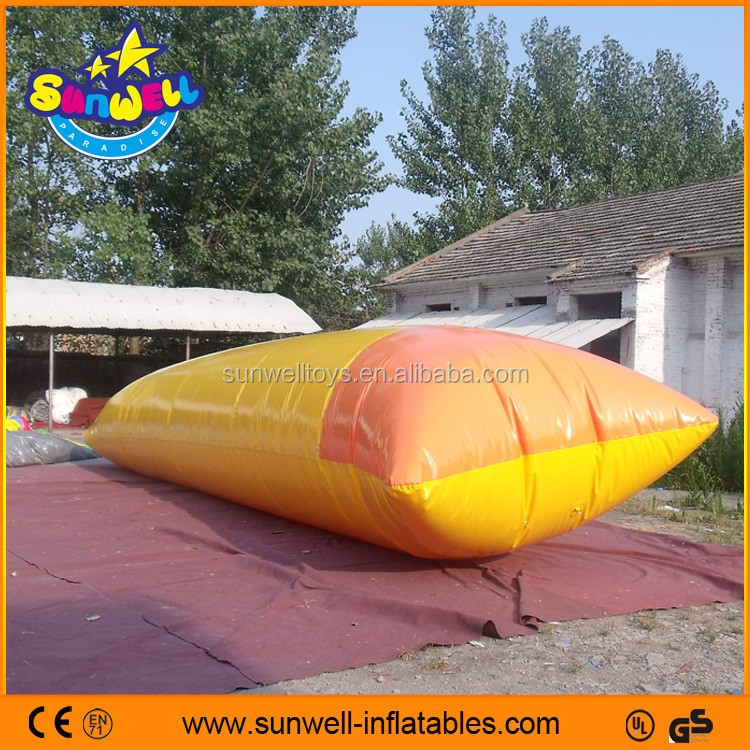 inflatable water blob,Inflatable water pillow,inflatable water catapult blob